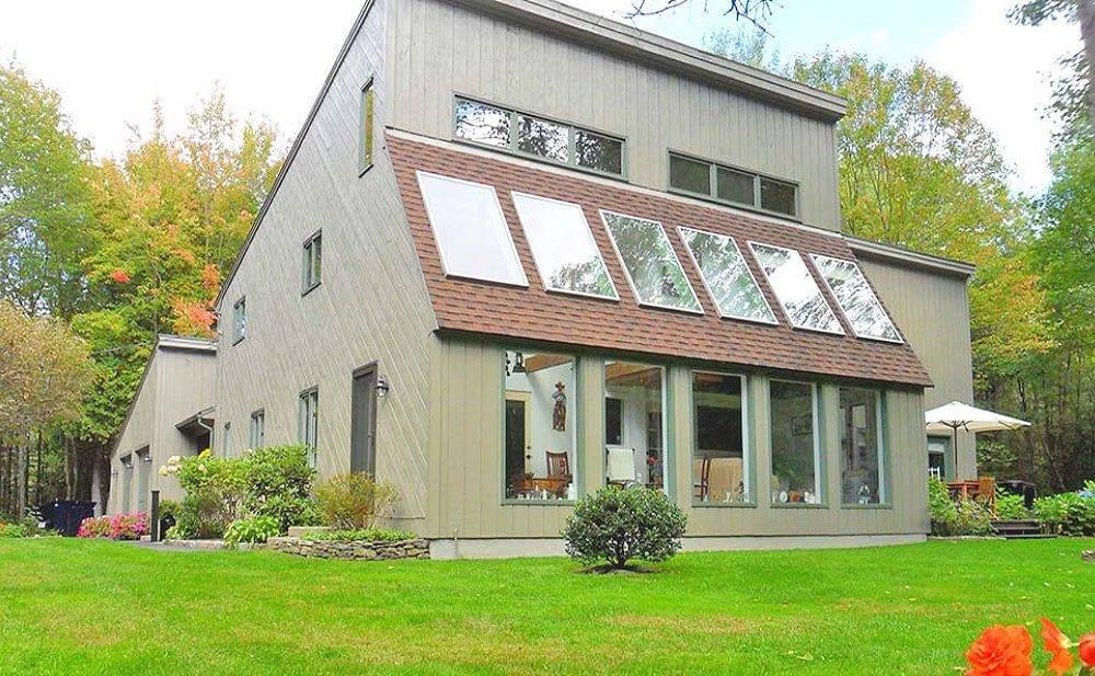 Жилой дом построенный по системе Sustainable Design