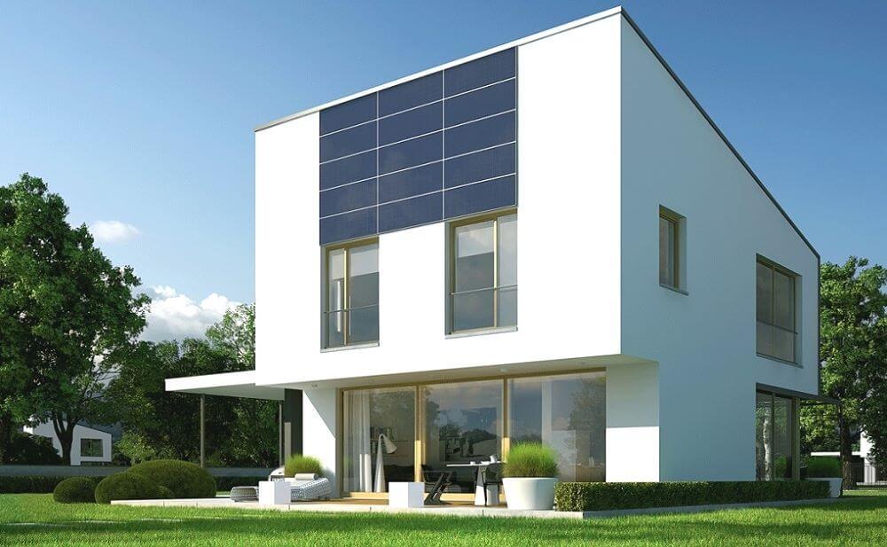 Стильный современный дом