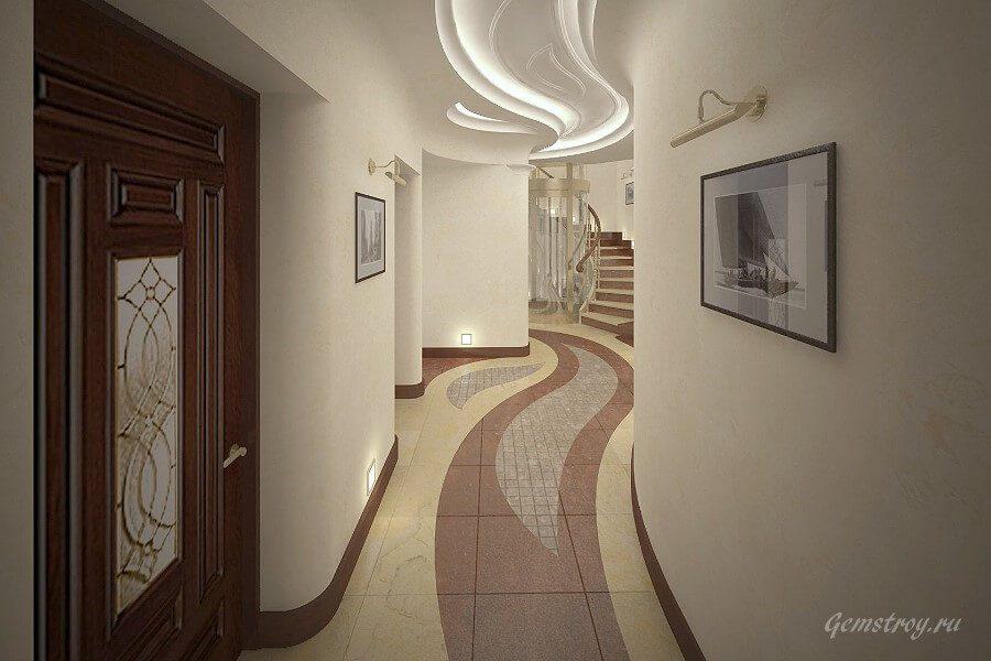 Современный коридор