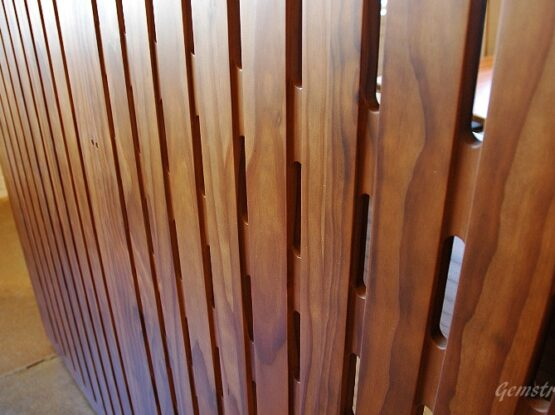 Забор из термодревесины